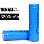 Rechargeable Battery UltraFire 3800mAh 3.7V