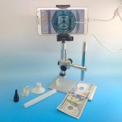 2MP USB Microscope, Adjustable Height