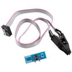 SOIC8 SOP8 Flash Chip IC Test Clips Socket Adapter BIOS/24/25/93 Programmer