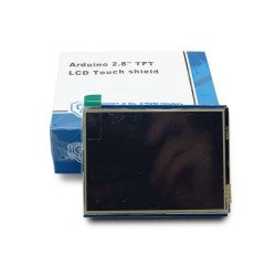 "2.8"" TFT LCD Touch Display Shield With SD Card"