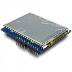 ITEAD Arduino UNO Mega Compatible 2.4 TFT LCD Touch Shield With SD Card Socket 8bit Data 4bit Control Interface