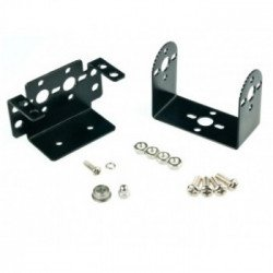 Pan and Tilt Kit (Black Anodized) (no servos)