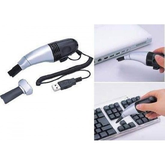 USB Computer Vacuum Cleaner for Laptop Desktop Keyboard