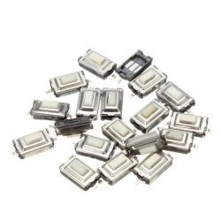 SMD PCB Tactile Push Button Switch 2 Pin 6 x 3.5 x 2.5mm