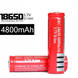 Rechargeable Battery Lithium Li-Ion 18650 3.7v 4800mah