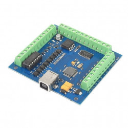 4 Axis Mach3 USB CNC Motion Controller Interface  Card