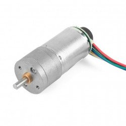 12V DC InstaBots Motor 201rpm W/Encoder for Robot Arm Control