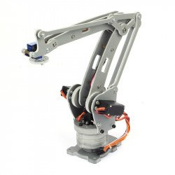 DIY 4-Axis Servos Control Palletizing Robot Arm Model for Arduino UNO MEGA2560