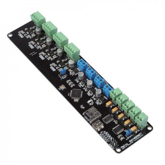 CNC/ 3D Printer controller board, ATMEGA1284p, A4988, MicroSD