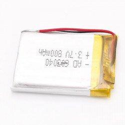 3.7v 800mah Lipo  Battery
