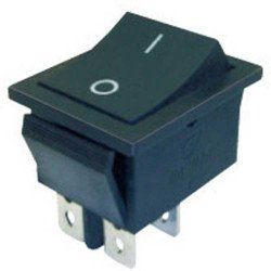 Rocker Switch  4 pin  16A/250V