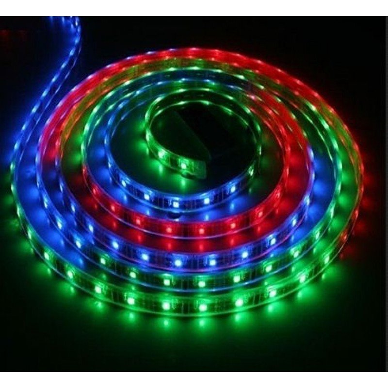 ruban led strip 5mm 5050 rgb 1m. Black Bedroom Furniture Sets. Home Design Ideas