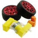 D65 wheel + Motor set - Red