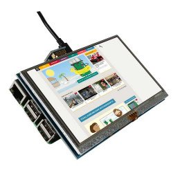 5 Inch 800x480 HDMI Touch LCD Display for Raspberry