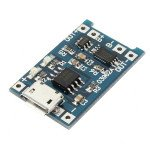 TP4056 Lithium Charger Module with Battery Protection