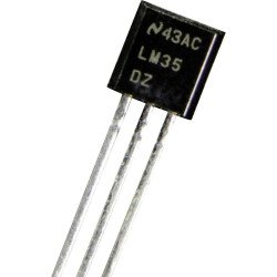 Temperature Sensor LM35DZ