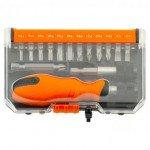 Screwdriver with nozzles TACTIX 900 016 16 pcs case