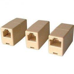 Ethernet adapter coupler RJ45 female/female