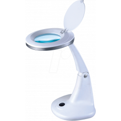 Magnifying  lamp, 100mm, with 48 LEDs