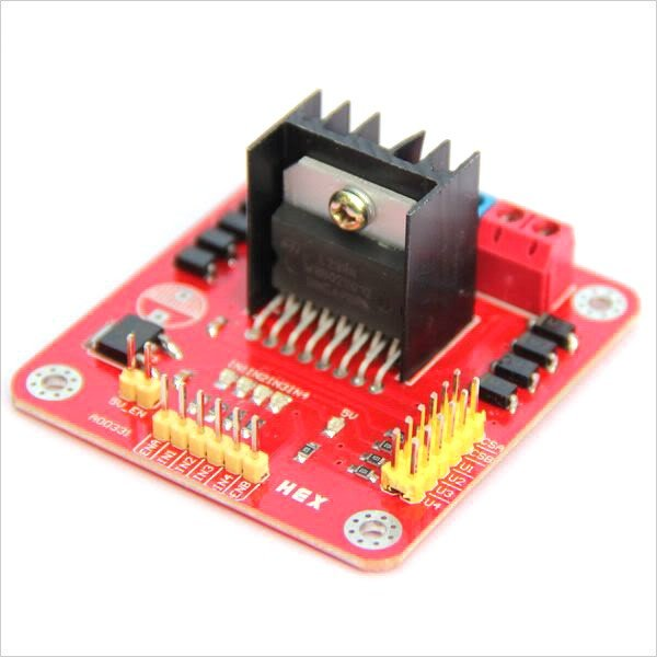 L298N Dual H Bridge DC Stepper Motor Driver Board