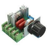 2000W 50V-220V Adjustable Voltage Regulator PWM AC Motor Speed Controller