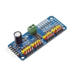 16-Channel 12-bit PWM/Servo Driver – I2C interface – PCA9685 Module