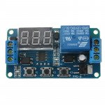 12V LED Display Digital Programmable Timer Relay Module