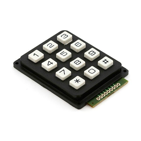 4 X 3 Matrix Keypad
