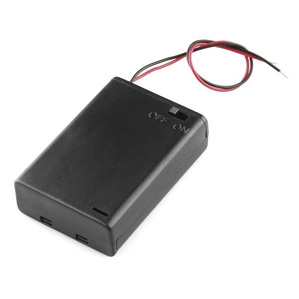 Battery Holder 3xAA with Switch