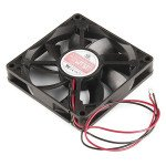 DC Brushless Fan -80x80x25mm 12V 0.08A