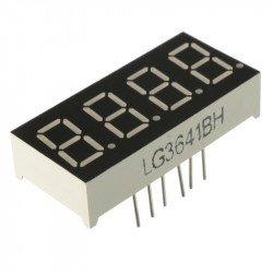 7 Segment 4 Digit Common cathode 0.36 Inch RED