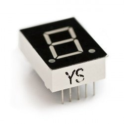 7-Segment Display - LED 0.5 inch common cathode
