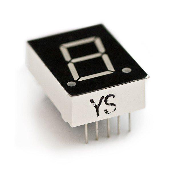 7-Segment Display - LED 0.5 inch common cathode