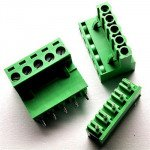 5.08mm Right Angle Screw Terminal block - 5 pin