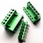 5.08mm Right Angle Screw Terminal block - 6 pin