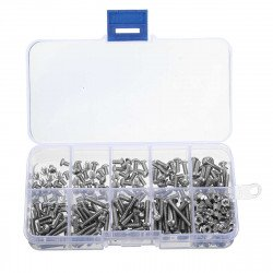 340pcs M3 Screws phillips bolt Nut Assortment Kit