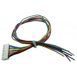 male JST connecteur balance XH 2.54-2P Connection Ver f 2 broches 10 pcs 100mm