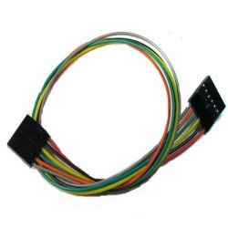 6 Pin Dual-female Jumper Wire - 20cm(Parallel)