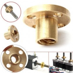 T8 Brass Nut