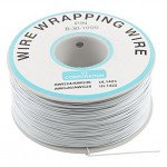 White 250m 30AWG Silicone Wire