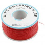 Red 250m 30AWG Silicone Wire