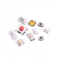 10 Types Tactile Push Button 250Pcs