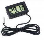 LCD Display Thermometer meter with Temperature Probe