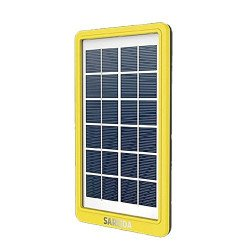 6V 3W 500mAh PV Power Solar Panel Battery Charger with DC Output