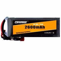 LiPo battery 3.7V/2600mAh-1S-25C