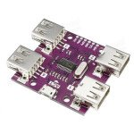 USB 2.0 HUB 4-Port Controller Module High Speed DC 5V 500mA