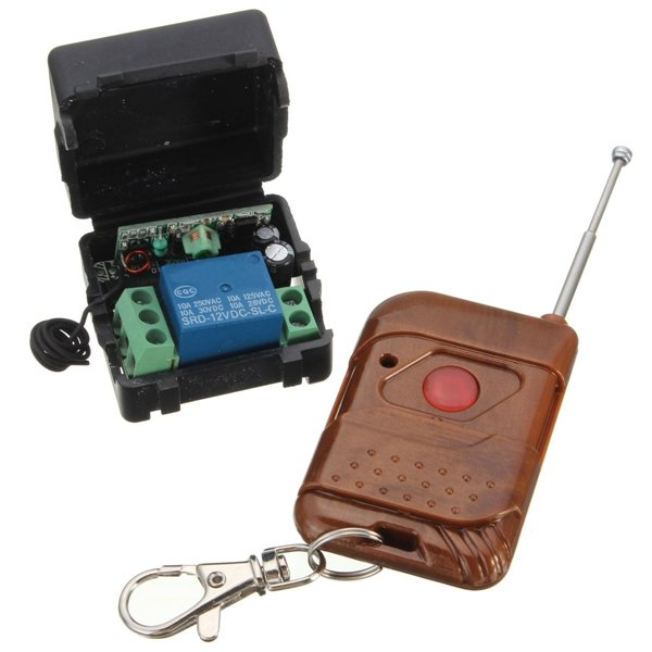 12V DC Remote Switch Self-Locking