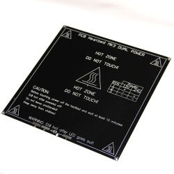 3MM MK3 Aluminum Board PCB Heat Bed 214*214mm