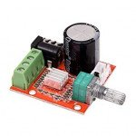 Mini Hi-Fi PAM8610 Audio Stereo Amplifier