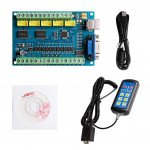 5-Axis Mach3 USB Controller Card STB5100 with MPG Handy Manual Controller